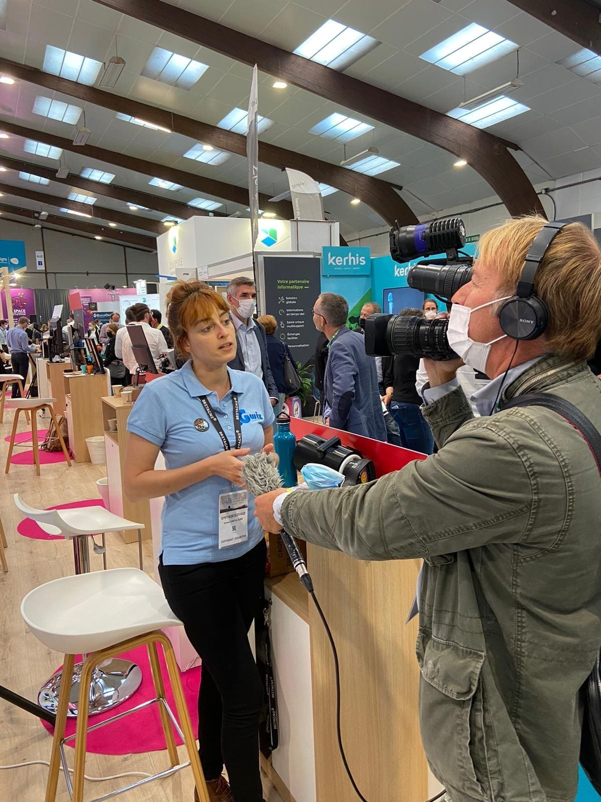 Emma Cantaloube from Synthèse Elevage interviewed for Gwiz : Awarded InnovSpace 2021