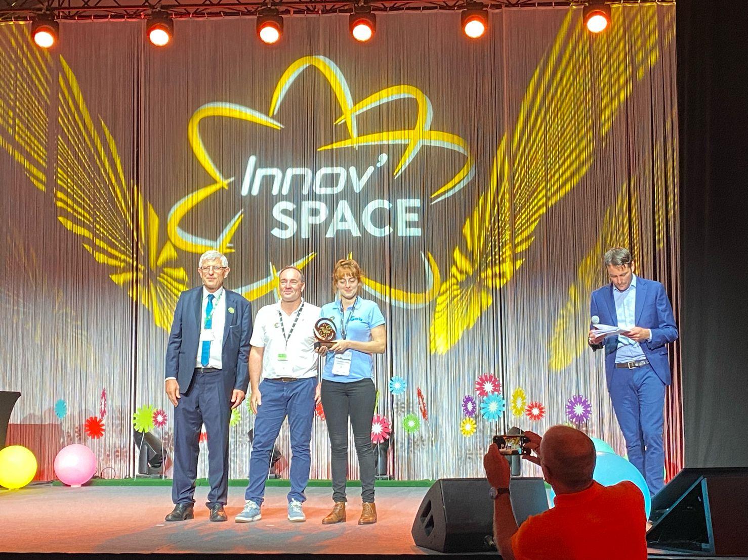 Alban Pobla and Emma Cantaloube awarded for Gwiz at Innovspace 2021
