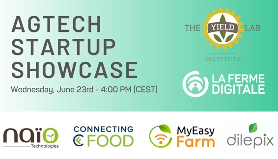 ▶ [REPLAY] Agtech Startup Showcase